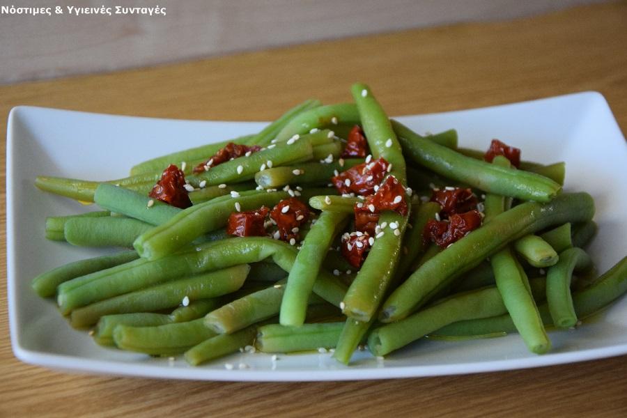 πράσινα φασολάκια σαλάτα 2
