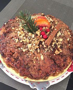 Κέικ με γεύση μελομακάρονο 4