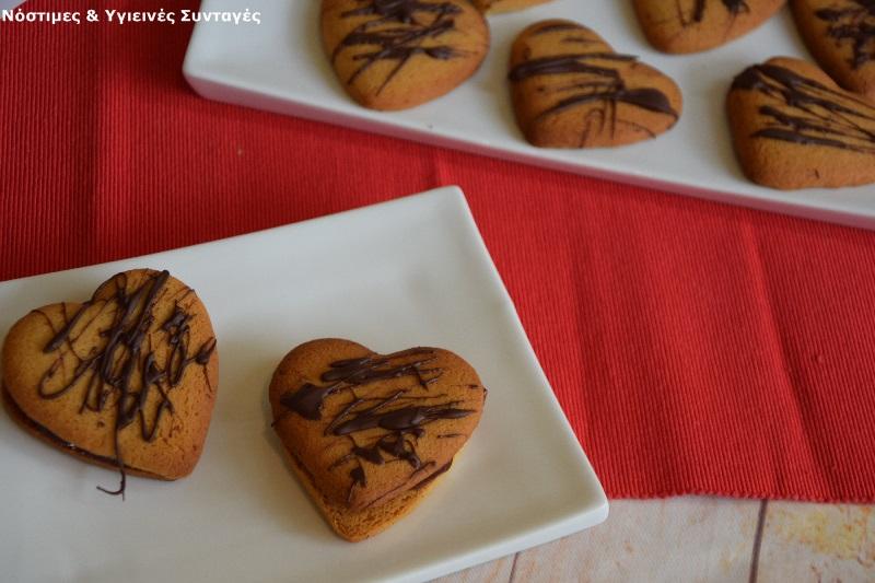 Μπισκότα βουτύρου χωρίς βούτυρο και ζάχαρη 2