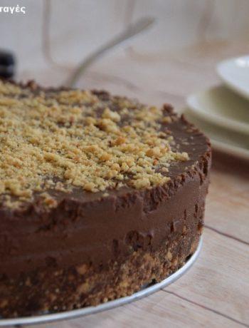 Νηστίσιμη τούρτα Φερρέρο Ροσέ