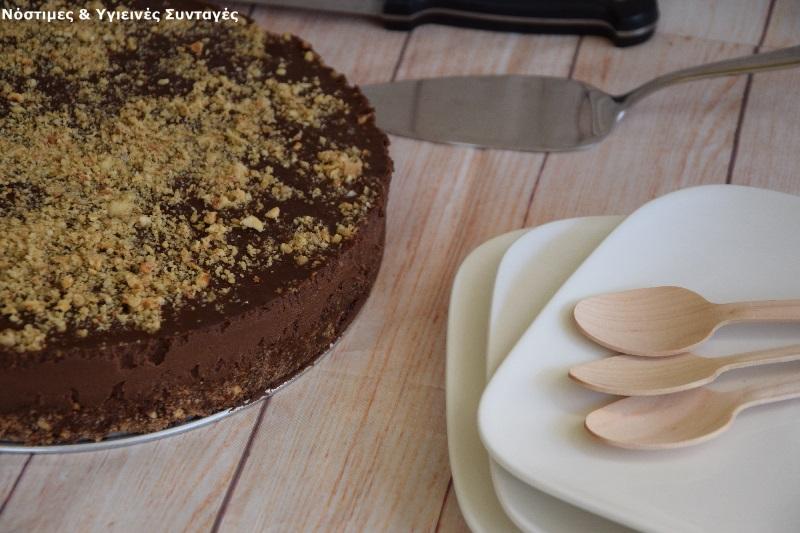 Νηστίσιμη τούρτα Φερρέρο Ροσέ 4
