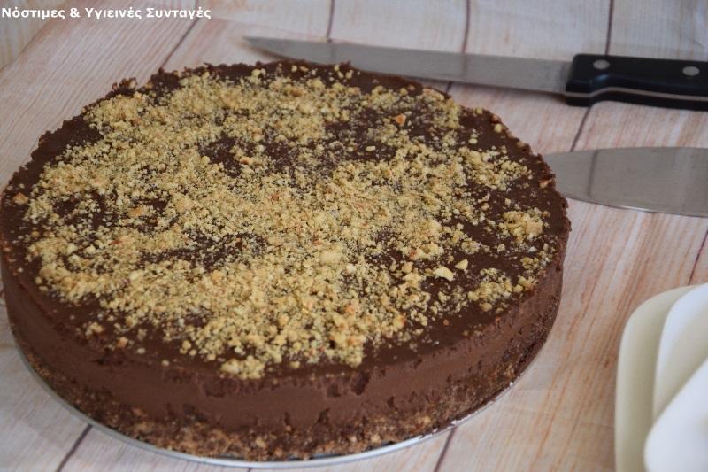 Νηστίσιμη τούρτα Φερρέρο Ροσέ 5