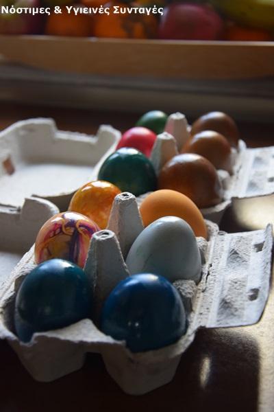 βαφή αυγών με οικολογικό τρόπο 2
