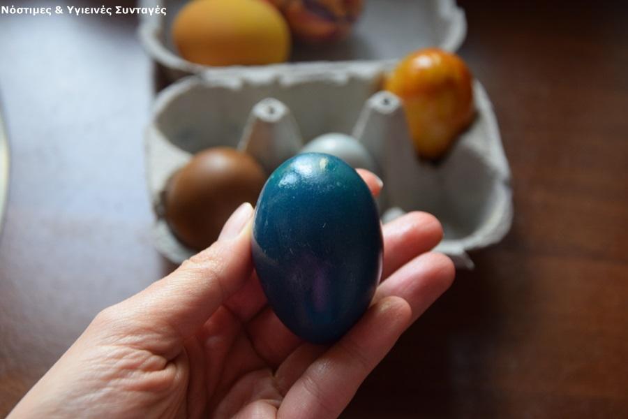 βαφή αυγών με οικολογικό τρόπο 5