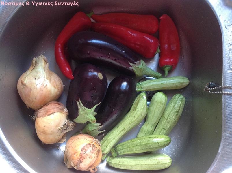 γιουβέτσι λαχανικών