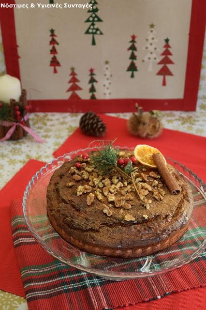 κέικ με γεύση μελομακάρονο 3