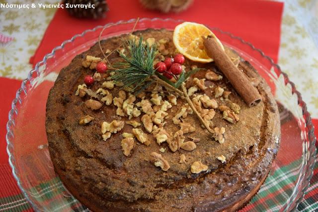 κέικ με γεύση μελομακάρονο