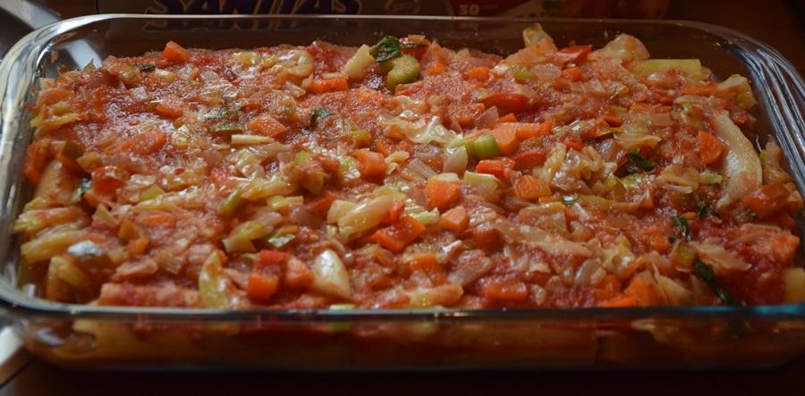 κανελόνια με λάχανο