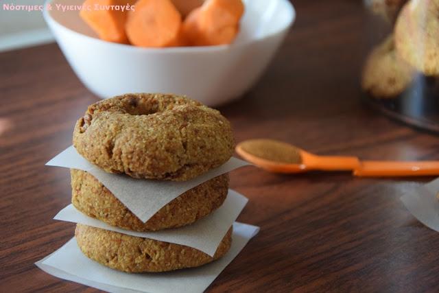 κουλουράκια καρότου χωρίς ζάχαρη