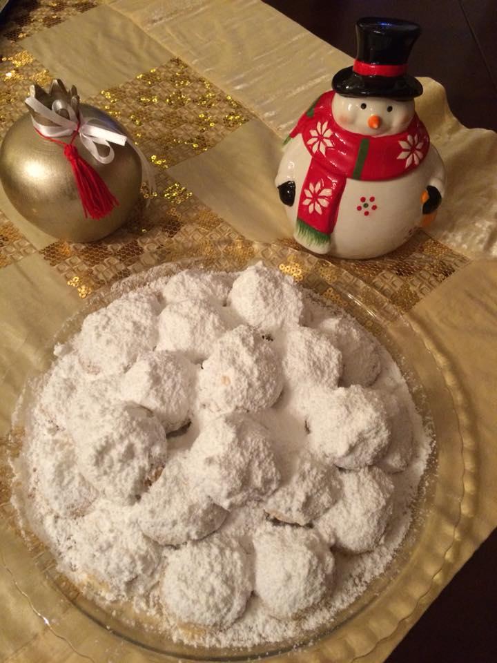 κουραμπιέδες χωρίς ζάχαρη 2