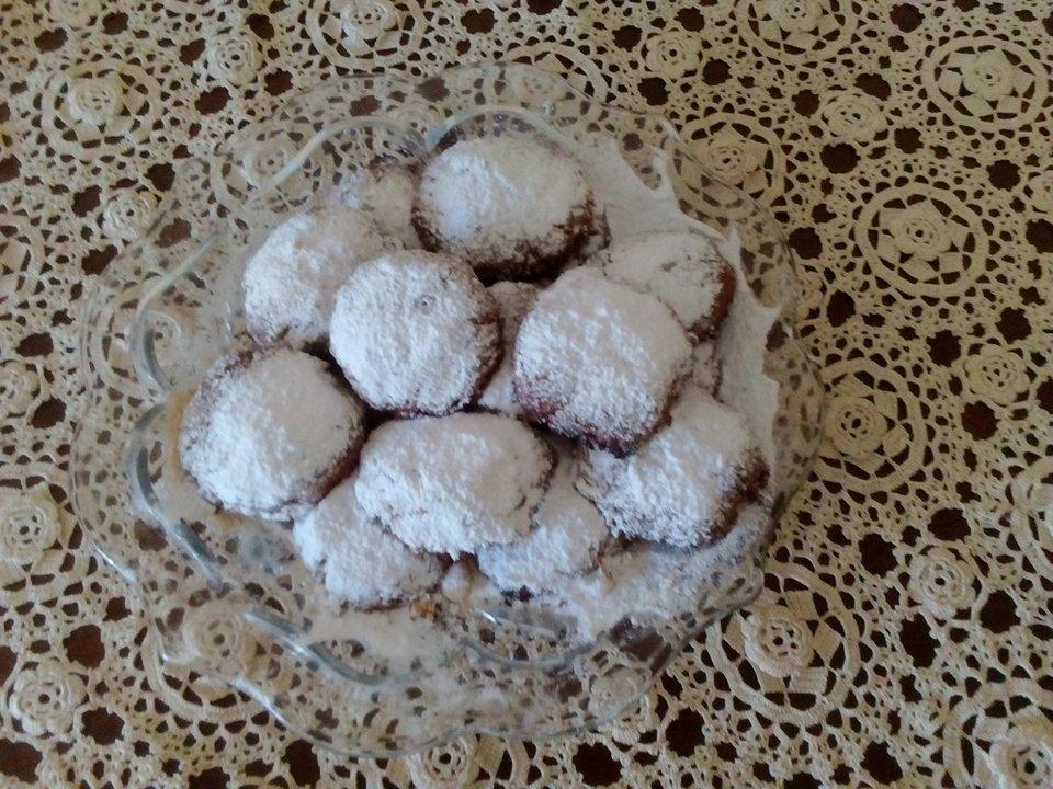 κουραμπιέδες χωρίς ζάχαρη 3