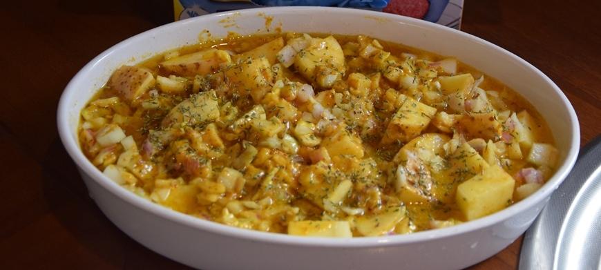 λεμονάτες πατάτες φούρνου