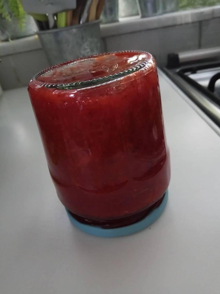μαρμελάδα φράουλα 2