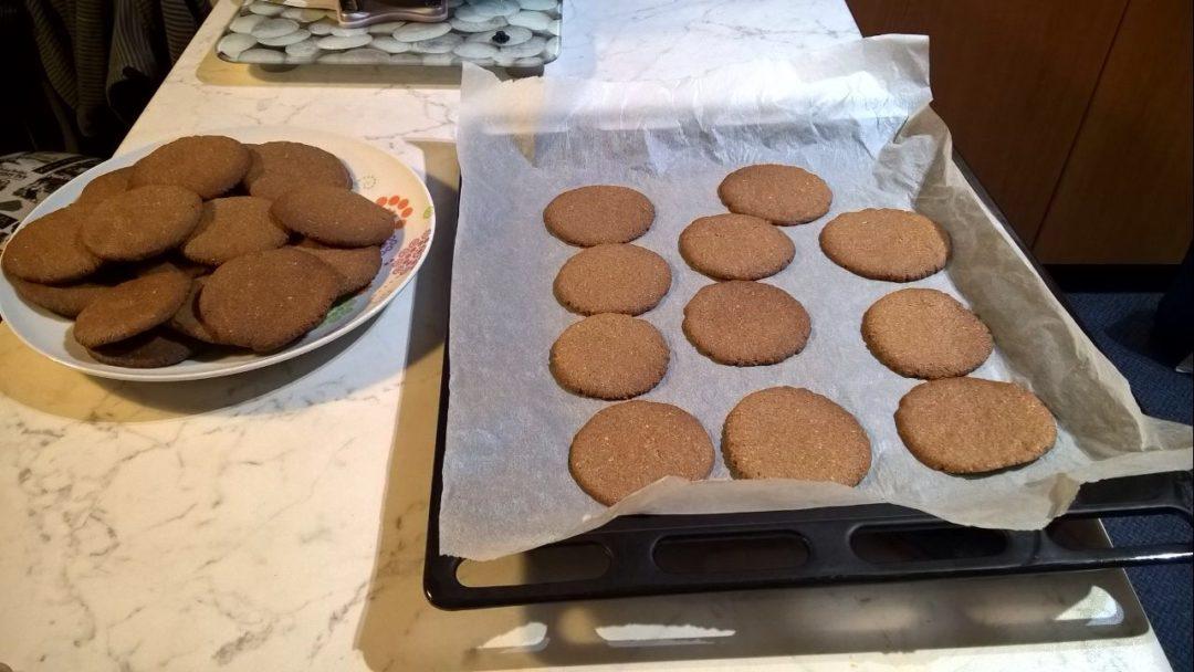 μπισκότα βουτύρου καρύδας 5