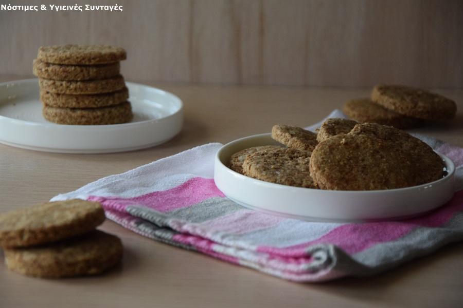 μπισκότα βουτύρου καρύδας