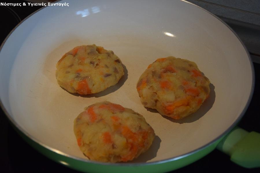 μπιφτέκια λαχανικών 5