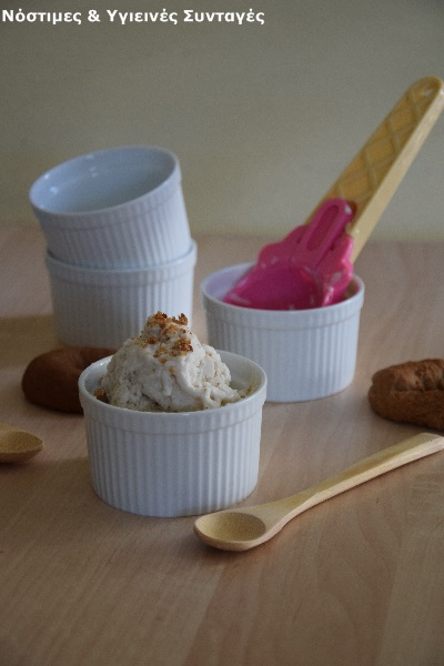 παγωτό με γεύση τσουρέκι