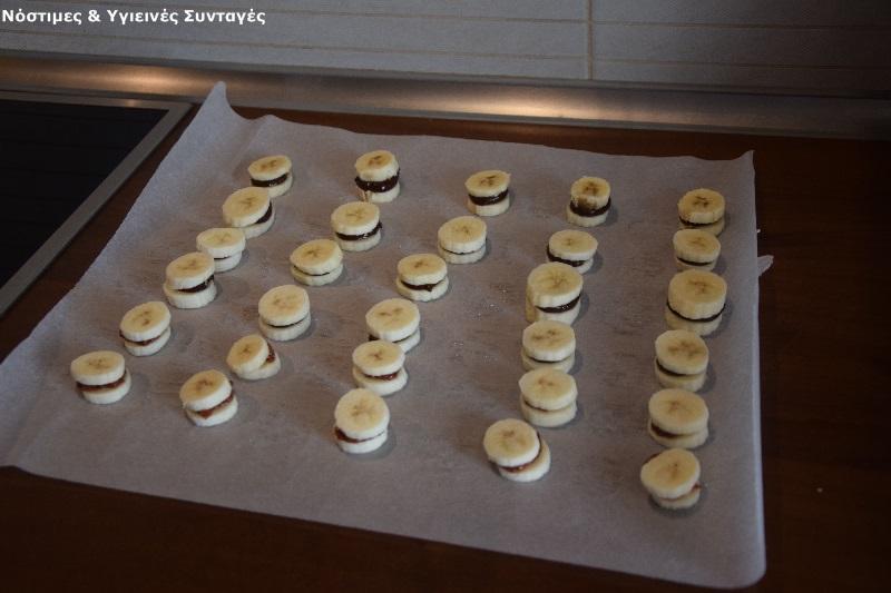 σοκολατένια σαντουιτσάκια μπανάνας 5