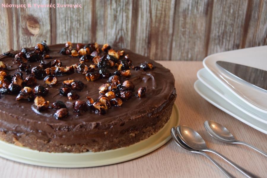τούρτα μους σοκολάτα με αβοκάντο 2