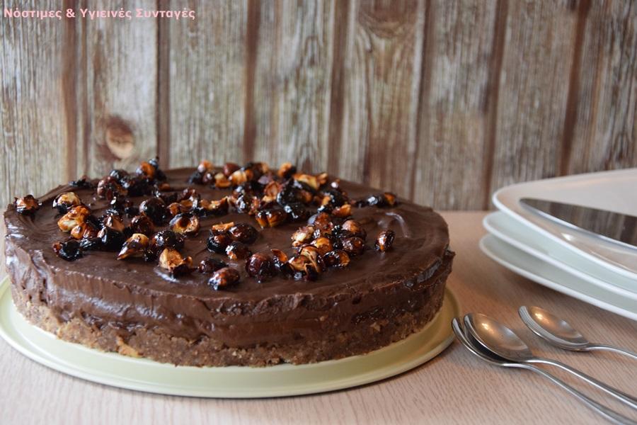τούρτα μους σοκολάτα με αβοκάντο 3