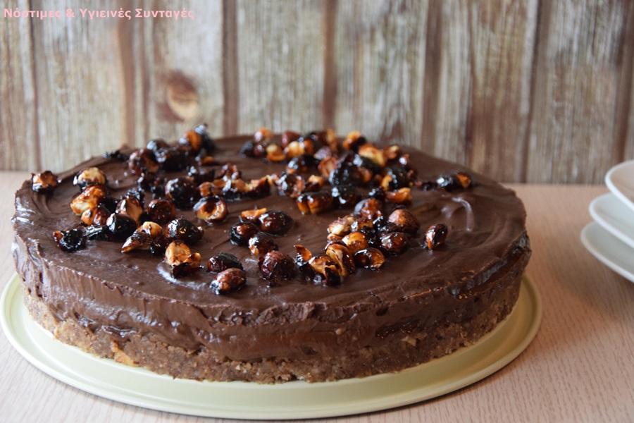 τούρτα μους σοκολάτα με αβοκάντο