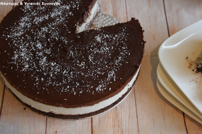 τούρτα bounty χωρίς ζάχαρη 3