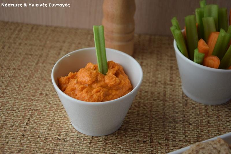 χούμους με πιπεριές φλωρίνης 3