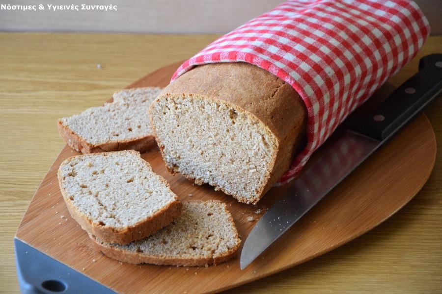 ψωμί με αλεύρι ζέας