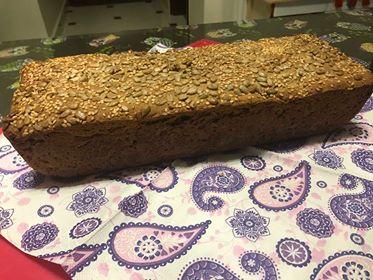 ψωμί με αλεύρι ζέας 14