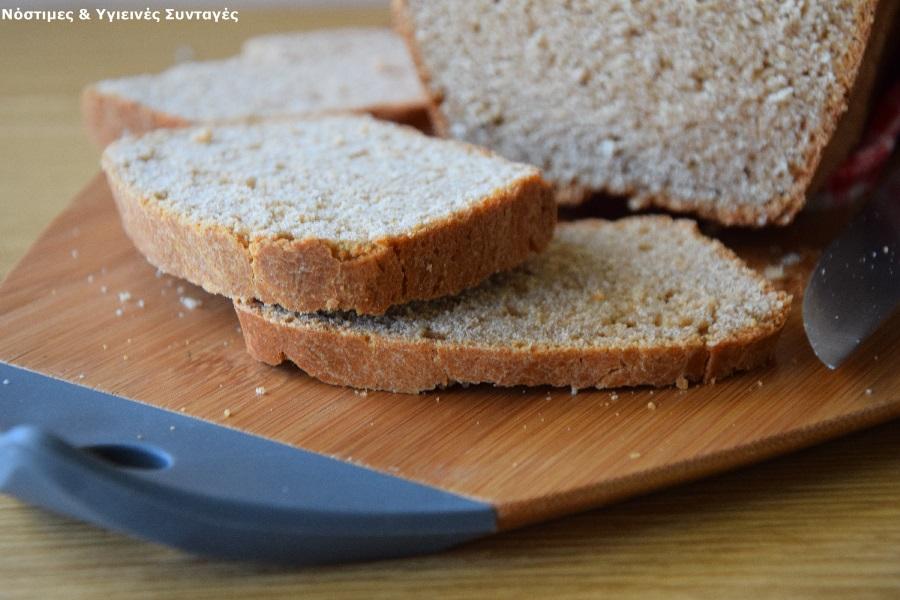 ψωμί με αλεύρι ζέας 8
