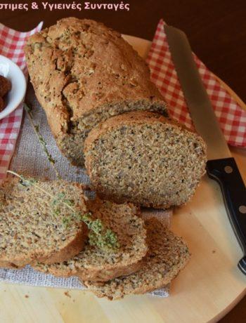σπιτικό πολύσπορο ψωμί ολικής