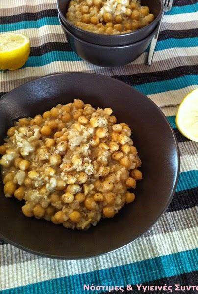 λεμονάτα-ρεβύθια-με-ρύζι