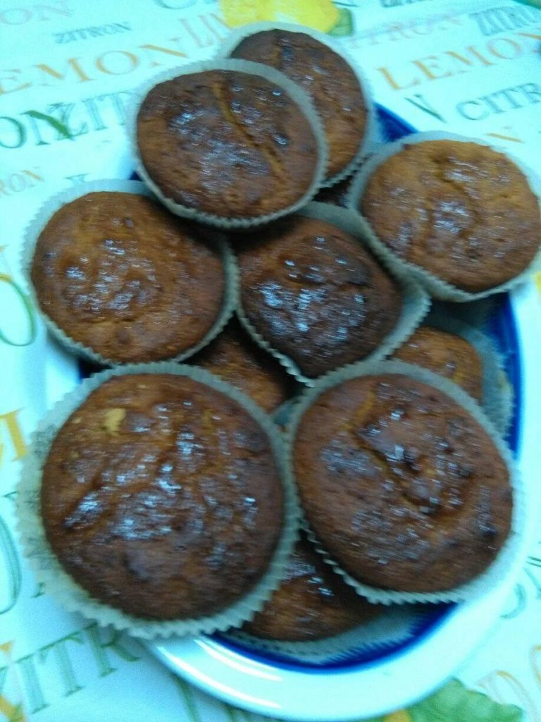 Muffin πορτοκαλιού 11