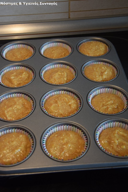 Muffin κέικ πορτοκάλι 7