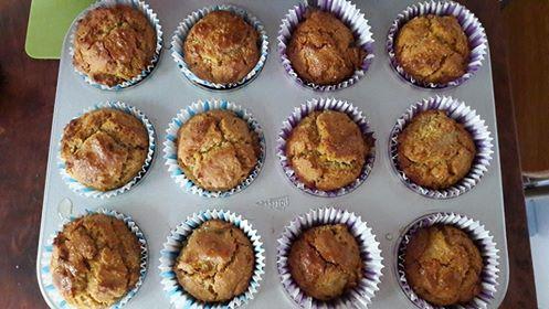 Muffin πορτοκαλιού χωρίς ζάχαρη