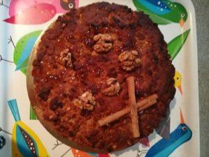 νηστίσιμη-βασιλόπιτα-κέικ