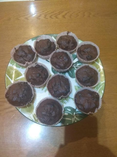 σοκολατένια Muffin