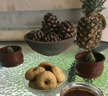 κουλουράκια με βρώμη και μέλι