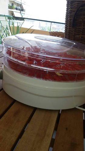 λιαστές ντομάτες χωρίς ηλιέλαιο