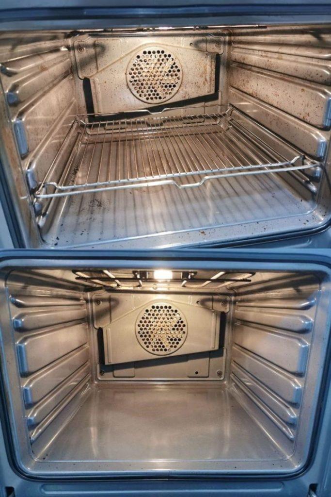 καθάρισμα φούρνου χωρίς χημικά