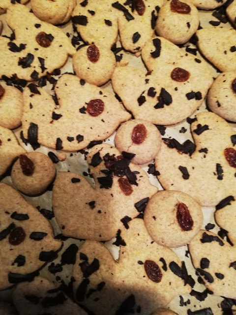 μπισκότα βουτύρου χωρίς βούτυρο