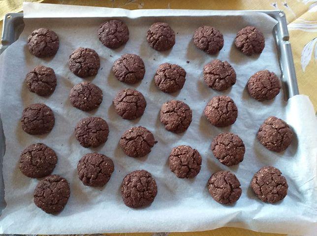 μπισκότα σοκολάτας με βρώμη