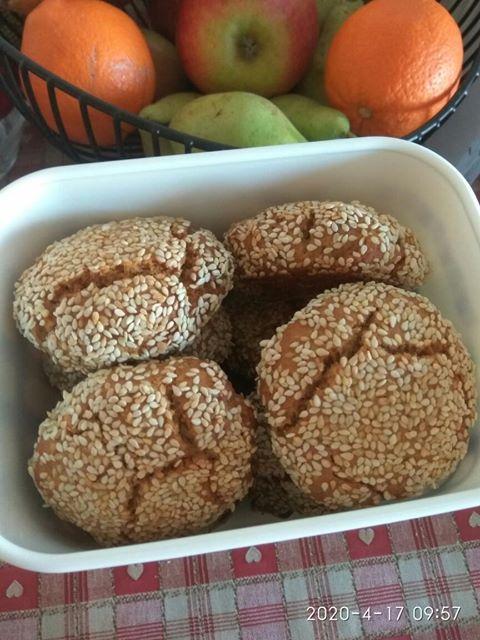 Πασχαλινά κουλουράκια πορτοκαλιού χωρίς ζάχαρη