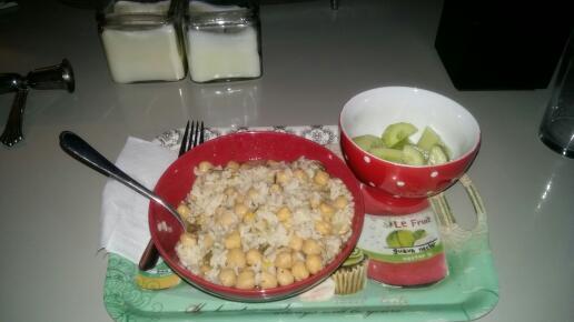 ρεβίθια με ρύζι