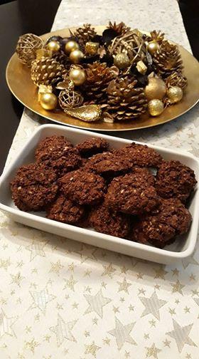 σοκολατένια μπισκότα με βρώμη