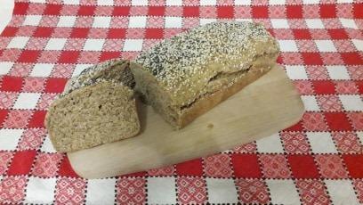 σπιτικό ψωμί Ζέας