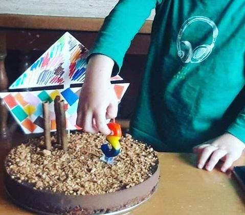τούρτα σοκολάτα με λίγες θερμίδες