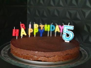 καριόκα σε τούρτα