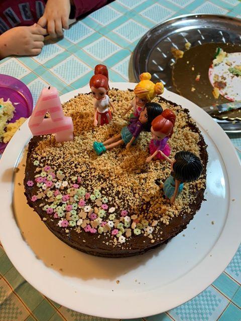 τούρτα σοκολάτα με φουντούκια