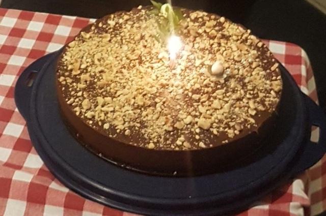 τούρτα σοκολάτα χωρίς ζάχαρη